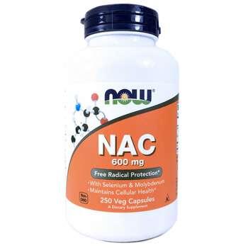 Купить NAC 600 mg 250 Veg Capsules ( NAC N-ацетил-L-цистеїн 600 мг 25...