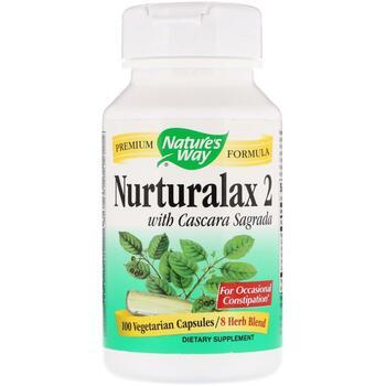 Купить Nurturalax 2 with Cascara Sagrada 100 Vegetarian Capsules ( Nu...