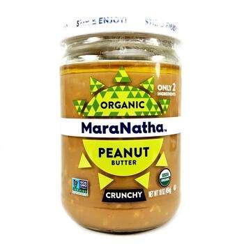 Купить Organic Peanut Butter Crunchy 454 g (Органічне арахісове масло...