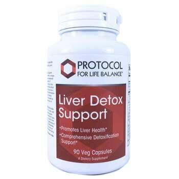 Купить Protocol for Life Balance Поддержки детоксикации печени 90 капсул