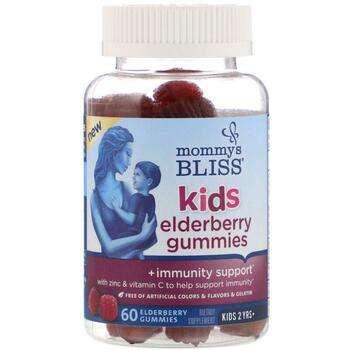 Купить Kids Elderberry Gummies + Immunity Support 60 Gummies ( Kids Б...