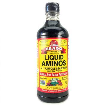 Купить Bragg Liquid Aminos Natural Soy Sauce Alternative 473 ml