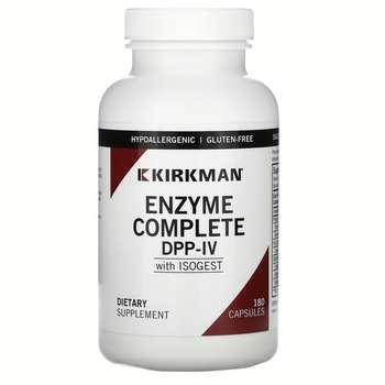 Купить Kirkman EnZym-Complete with DPP-IV II & ISOGEST 180 Capsules