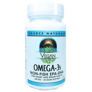 Купить Vegan Omega 3s EPA/DHA 30 Softgels ( Веганська Омега-3 EPA / D...