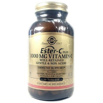 Купить Solgar Ester C Plus 1000 mg Vitamin C 90 Tablets