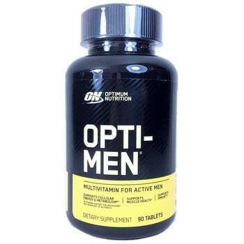 Купить Optimum Nutrition Мультивитамины для мужчин Опти Мен 90 таблеток