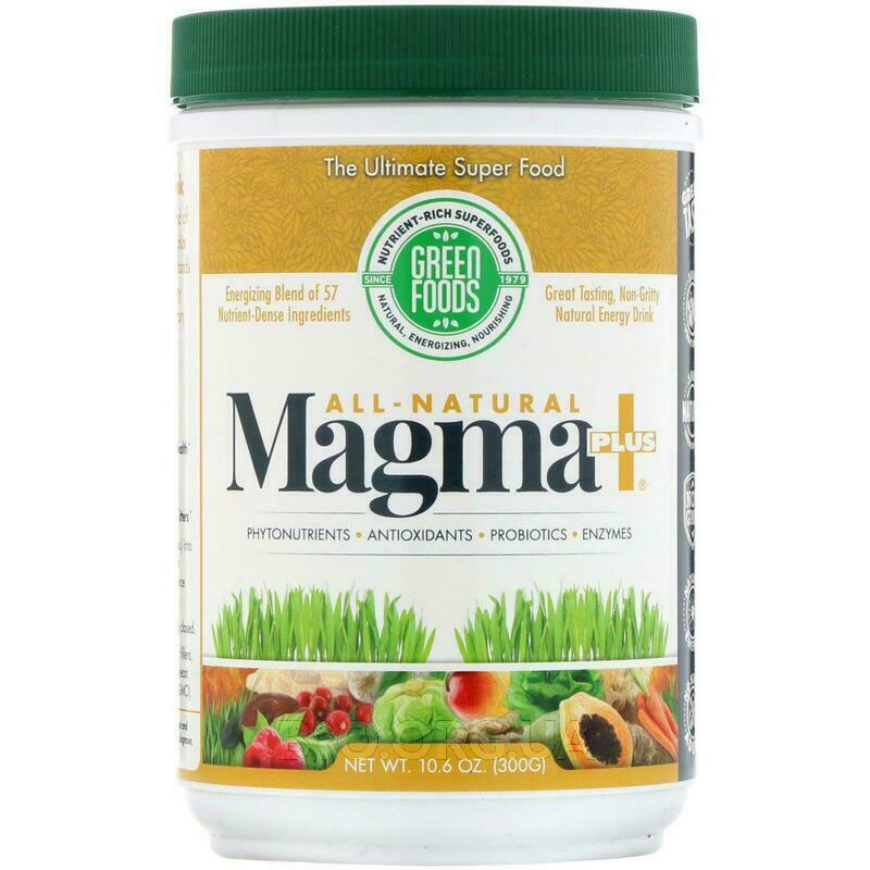 Green Foods All-Natural Magma Plus 10 300 г фото товара