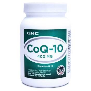 Купить GNC Preventive Nutrition CoQ-10 400 mg 60 Softgel Capsules
