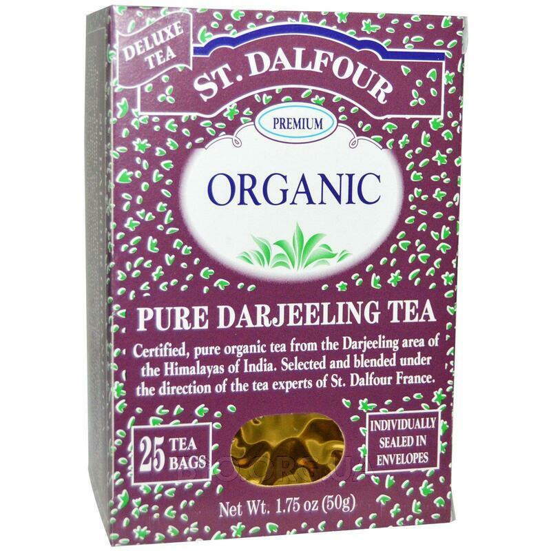 Органический чистый чай Дарджилинг  25 чайных пакетиков .07 2 ... фото товара