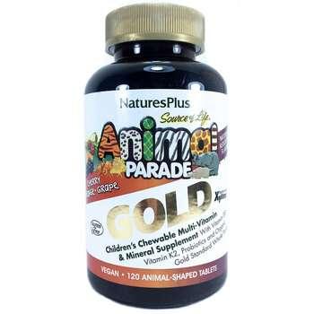 Купить Natures Plus Animal Parade Gold Children Chewable Multi Vitami...