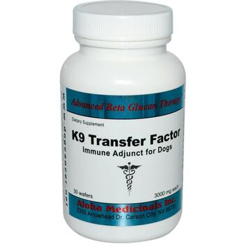Купить K 9 Transfer Factor Immune Adjunct for Dogs 3000 mg 30 Wafers ...