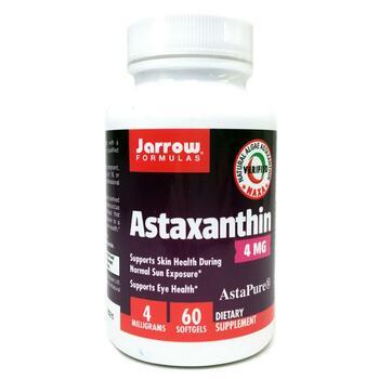 Купить Astaxanthin 4 mg 60 Softgels (Астаксантин 4 мг 60 капсул)