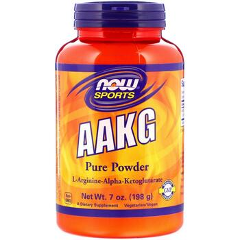 Купить Sports AAKG Pure Powder 198 g ( L-Аргинин Альфа-Кетоглутарат п...