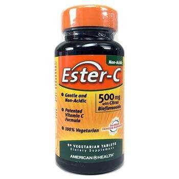 Купить American Health Ester C 500 mg 90 Veggie Tabs