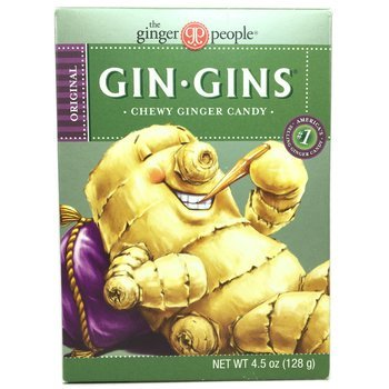 Купить The Ginger People Gin Gins Chewy Ginger Candy 128 g