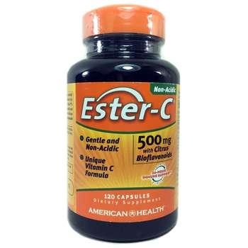 Купить American Health Ester C 500 mg with Citrus Bioflavonoids 120 C...