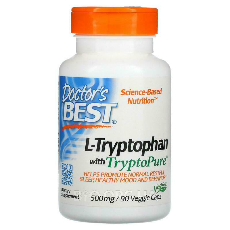 Лучший L триптофан 500 мг 90 капсул фото товара