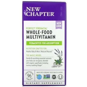Купить New Chapter Perfect Prenatal Multivitamin 96 Vegetarian Tablets