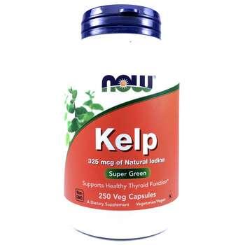 Купить Now Foods Kelp 250 Veg Capsules