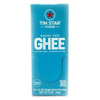 Купить Tin Star Foods Grassfed Ghee 10 Single Servings 14 g
