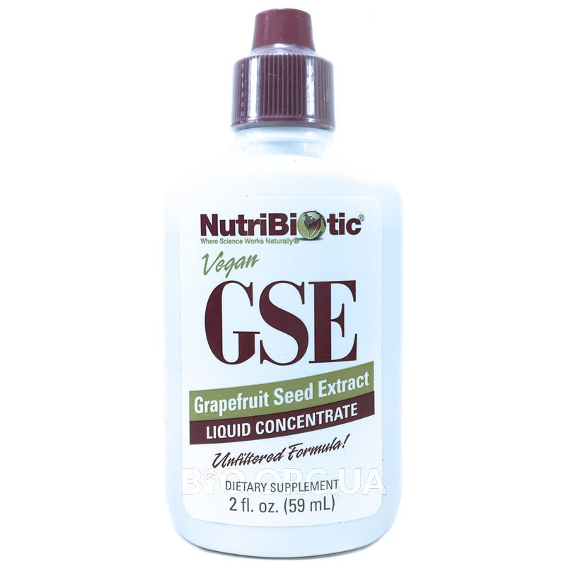 NutriBiotic GSE Grapefruit Seed Extract Liquid 59 ml
