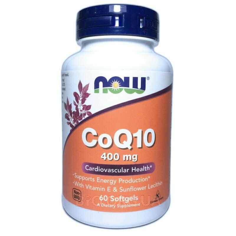 CoQ10 High Potency Cardiovascular Health 400 mg 60 Softgels фото товара