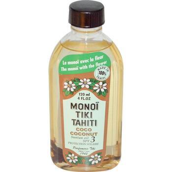 Купить Coconut Suntan Oil SPF 3 Protection Solaire 120 ml (Тіарі Коко...
