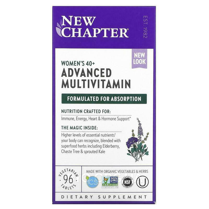 Мультивитамины для женщин 40+ 96 таблеток фото товара
