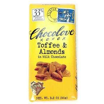 Купить Toffee Almonds in Milk Chocolate 90 g
