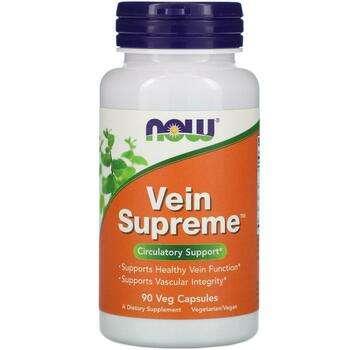 Купить Now Foods Vein Supreme 90 Veg Capsules