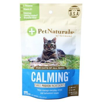 Купить Pet Naturals of Vermont Calming For Cats 30 Chews 45 g