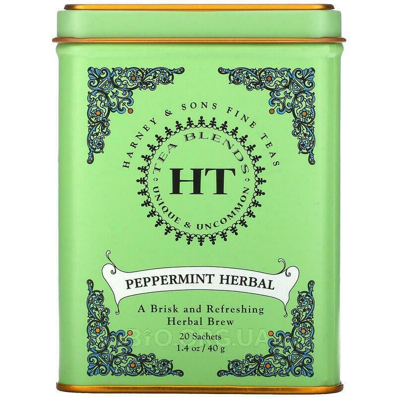 Харни Сонс Изысканный мятный травяной чай без кофеина 20 пакет... фото товара