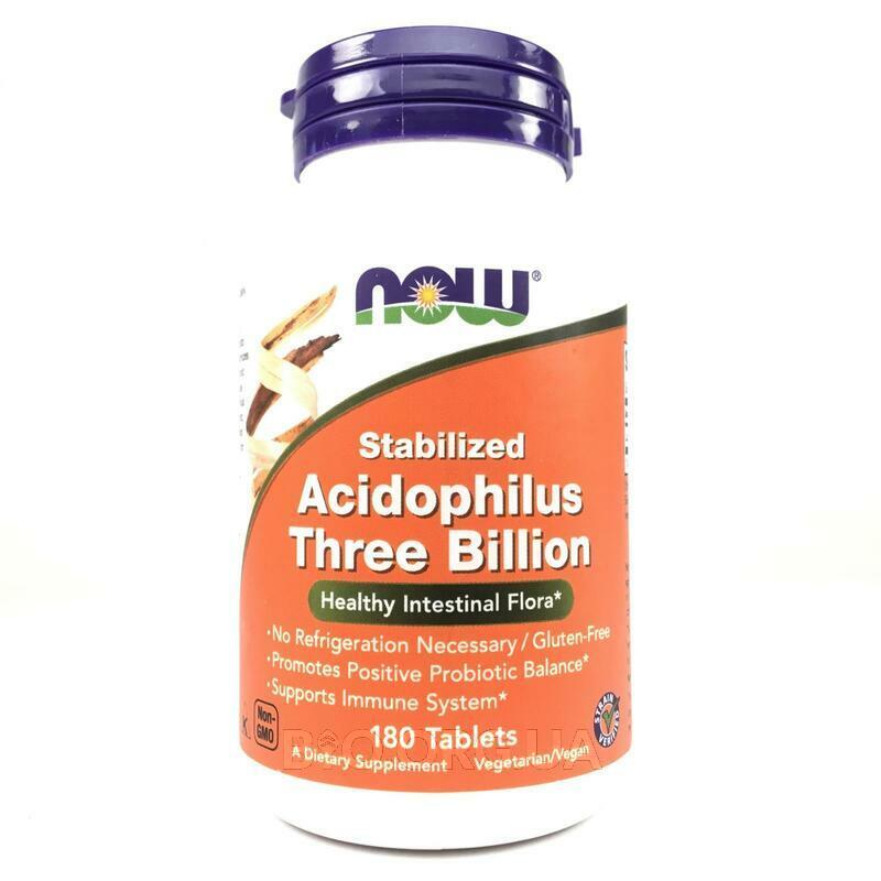 Ацидофилин Три Миллиарда Пробиотики 180 Таблеток фото товара