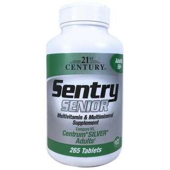 Купить Health Care Sentry Senior Multivitamin Mineral Supplement Adul...