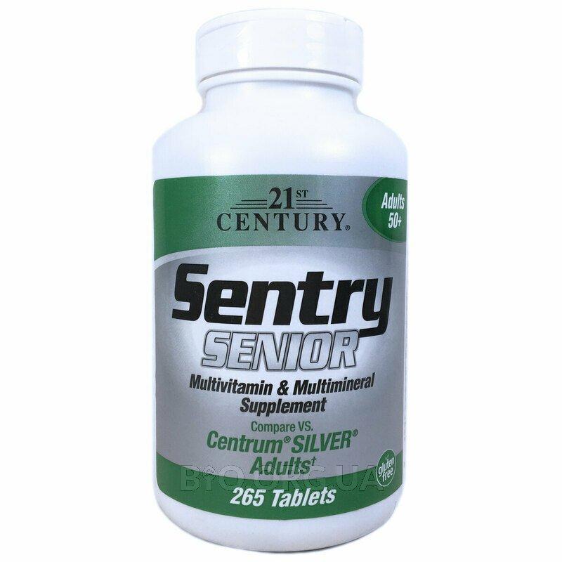 21 век Мультивитаминная и минеральная добавка для взрослых старше 50 265 таблеток