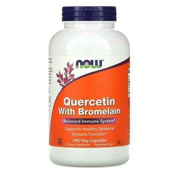 Купить Quercetin with Bromelain 240 Veg Capsules ( Кверцетин с бромел...