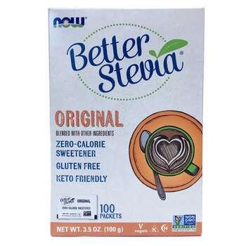 Купить Now Foods BetterStevia Zero Calorie Sweetener Original 100 Pac...