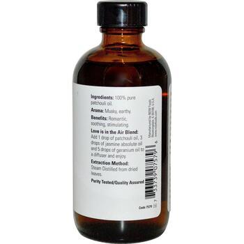 натуральное масло Пачули 118 мл  фото состава