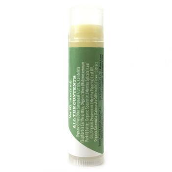 Энджел Беби Травяной бальзам для губ с мятой 4.25 г  фото состава