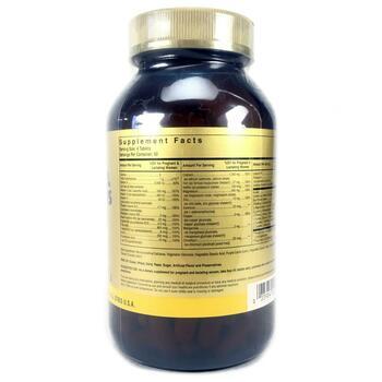 Пренатальные Мультивитамины и минералы 240 таблеток  фото состава