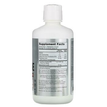 L карнитин жидкий 1000 мг цитрус 946 мл  фото состава