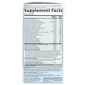 Мультивитаминны для женщин 50 лет и старше 120 капсул  фото состава
