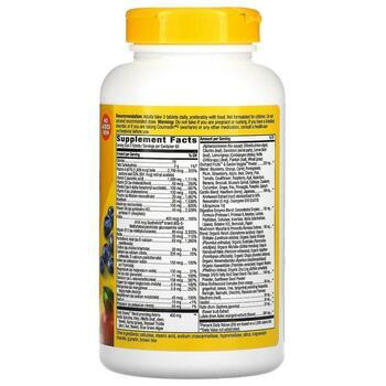 Нэйчерс Вэй Alive Max Potency Multi Vitamin No Added Iron 180 ...  фото состава