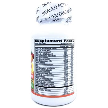 Мультивитамины и минералы для веганов Одна в день 90 таблеток  фото состава