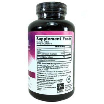 Неоцел Коллаген тип 1 и 3 Витамин C 250 таблеток  фото состава