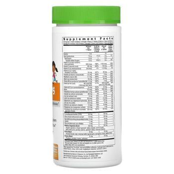Пищевой мультивитаминный фруктовый пунш 120 таблеток  фото состава