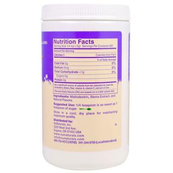 NuStevia White Stevia Powder 12 340 g  фото состава