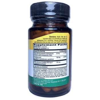 Gluten Free DMAE Coenzymized 350 mg 50 Veggie Caps  фото состава