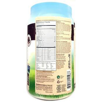 растительный протеин и заменитель пищи шоколад 1,017 г  фото состава
