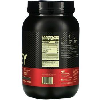 Оптимум Нутришн сывороточный протеин со вкусом шоколада 909 гр  фото состава